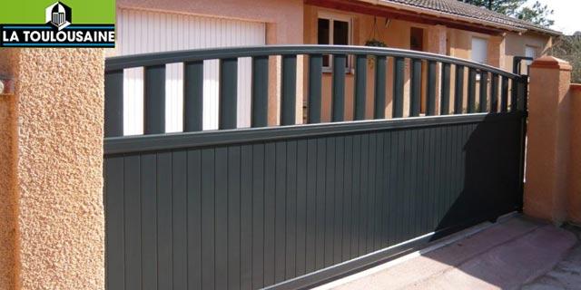 Portail et cloture rouen for Porte de garage enroulable jumelé avec reelax tordjman